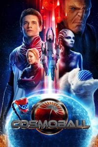 """Poster for the movie """"Cosmoball"""""""