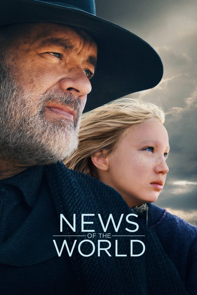 """Poster for the movie """"News of the World"""""""
