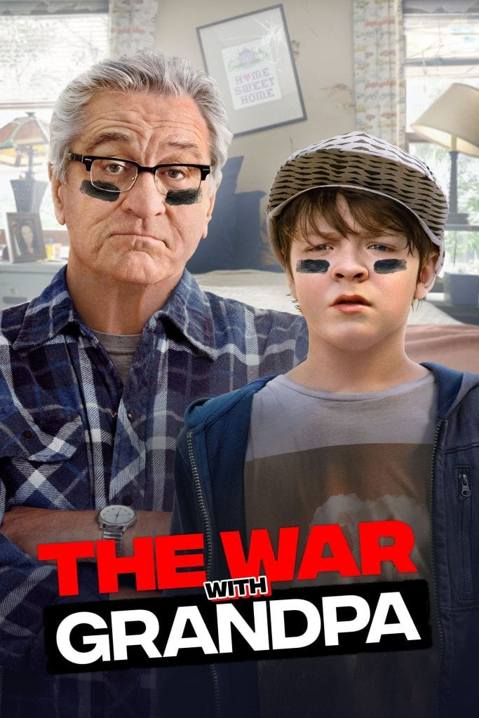 """Poster for the movie """"The War with Grandpa"""""""