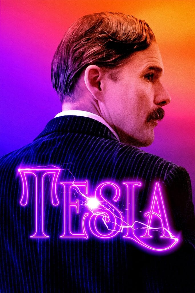 """Poster for the movie """"Tesla"""""""