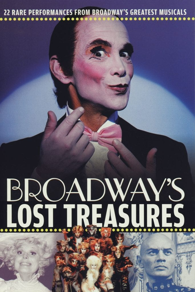 """Poster for the movie """"Broadway's Lost Treasures"""""""