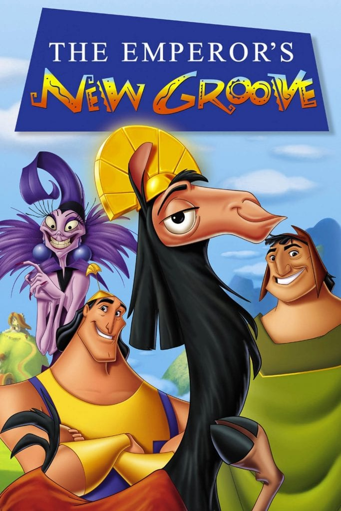"""Poster for the movie """"The Emperor's New Groove"""""""