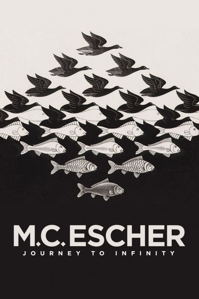 """Poster for the movie """"M.C. Escher: Journey to Infinity"""""""