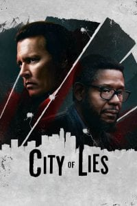 """Poster for the movie """"City of Lies"""""""