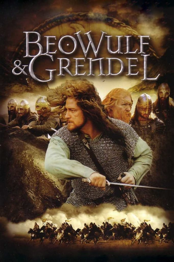 """Poster for the movie """"Beowulf & Grendel"""""""