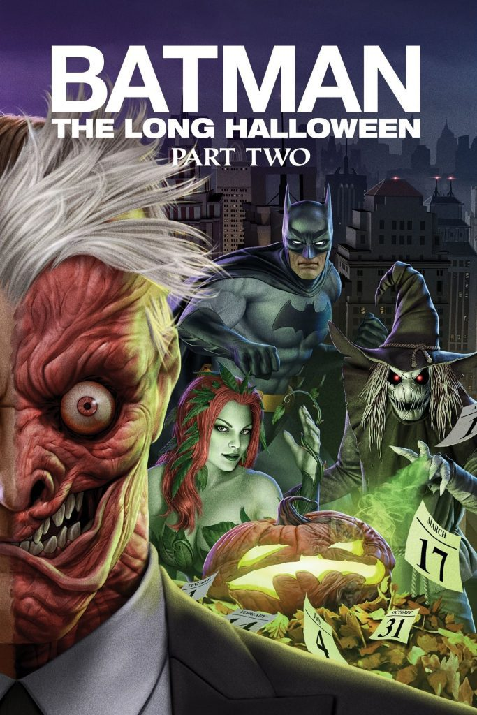 """Poster for the movie """"Batman: The Long Halloween, Part Two"""""""