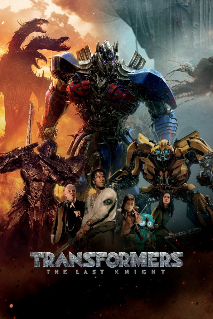 """Poster for the movie """"Transformers: The Last Knight"""""""