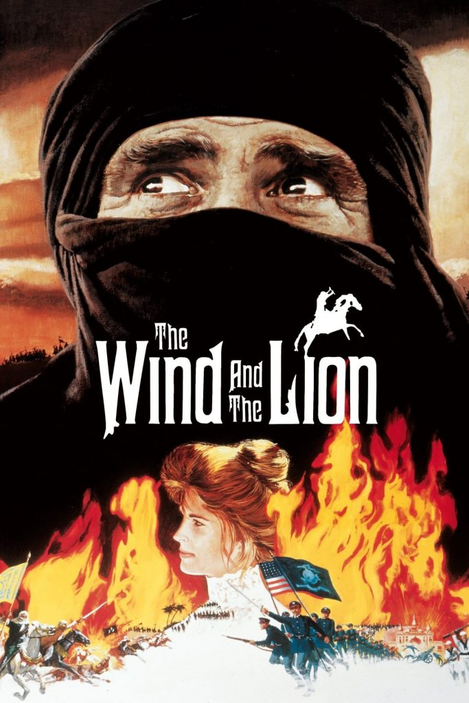 """Poster for the movie """"The Wind and the Lion"""""""