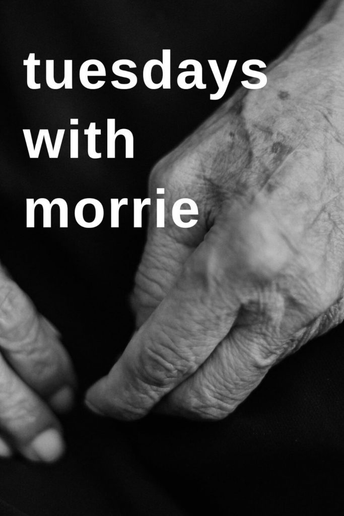 """Poster for the movie """"Tuesdays with Morrie"""""""