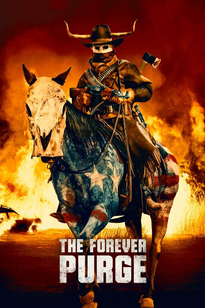 """Poster for the movie """"The Forever Purge"""""""