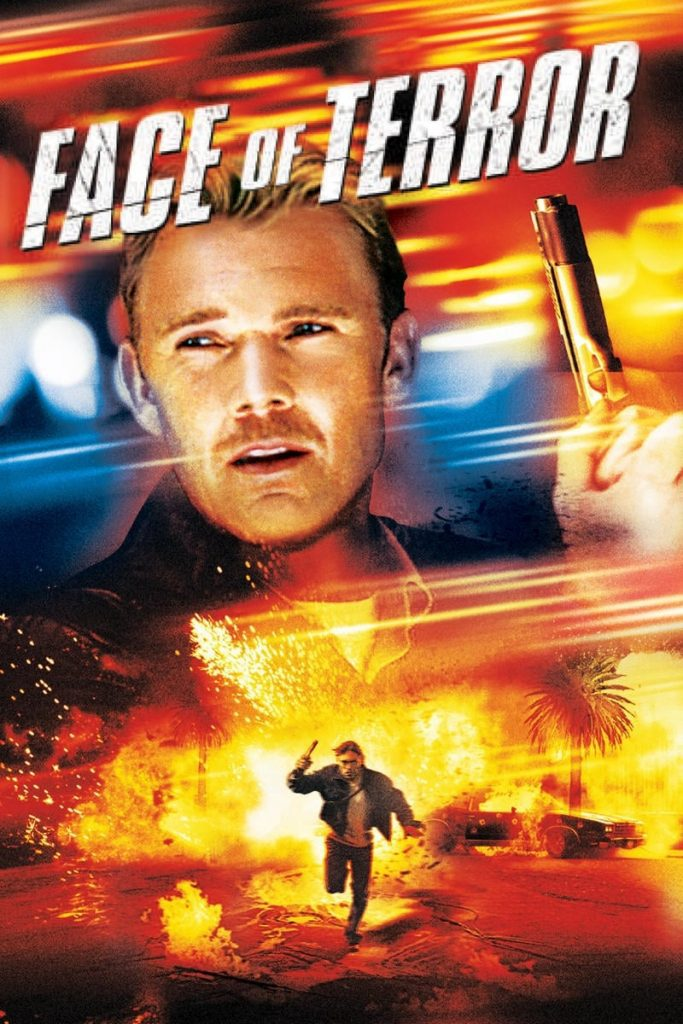 """Poster for the movie """"Face of Terror"""""""